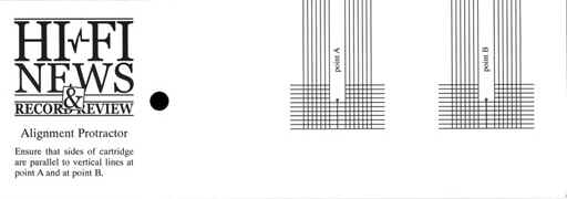 Stylus Alignment Protractor Bing Images