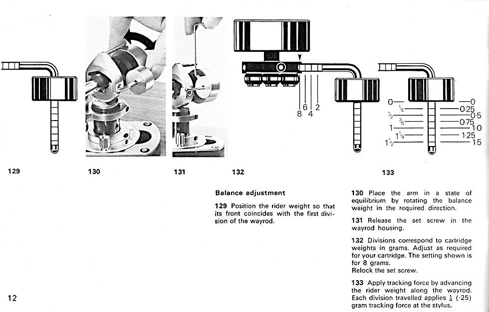 Инструкция тонарма sme 309