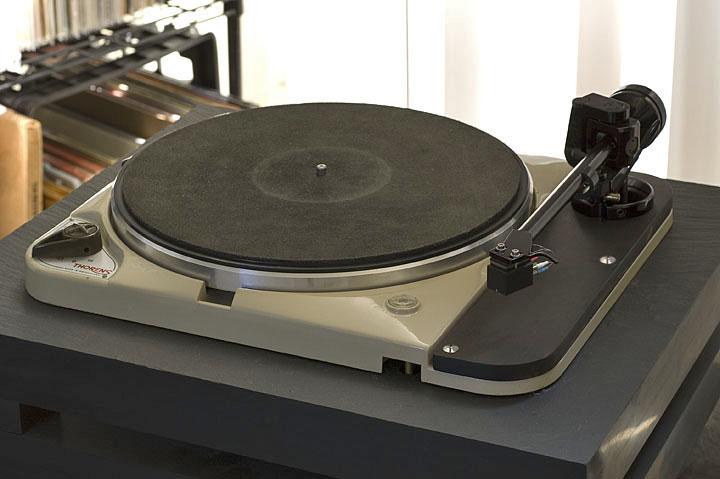 Mat For The Td124 Iron Platter Vinyl Engine