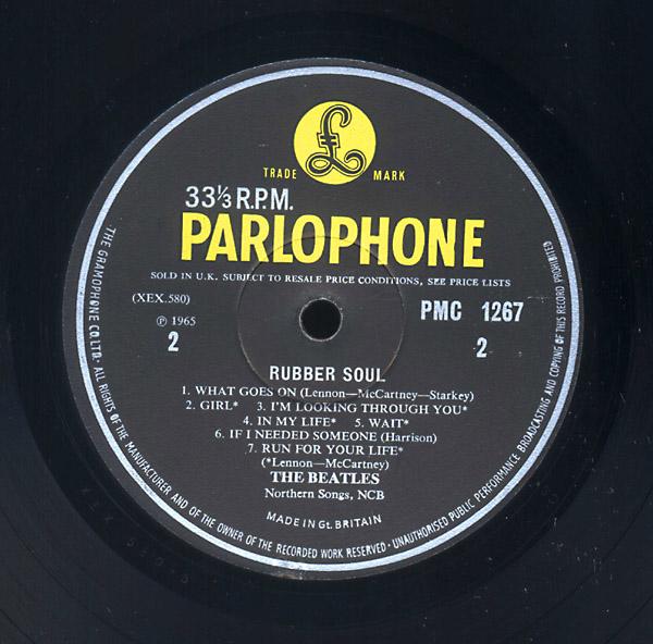 Beatles On Parlophone
