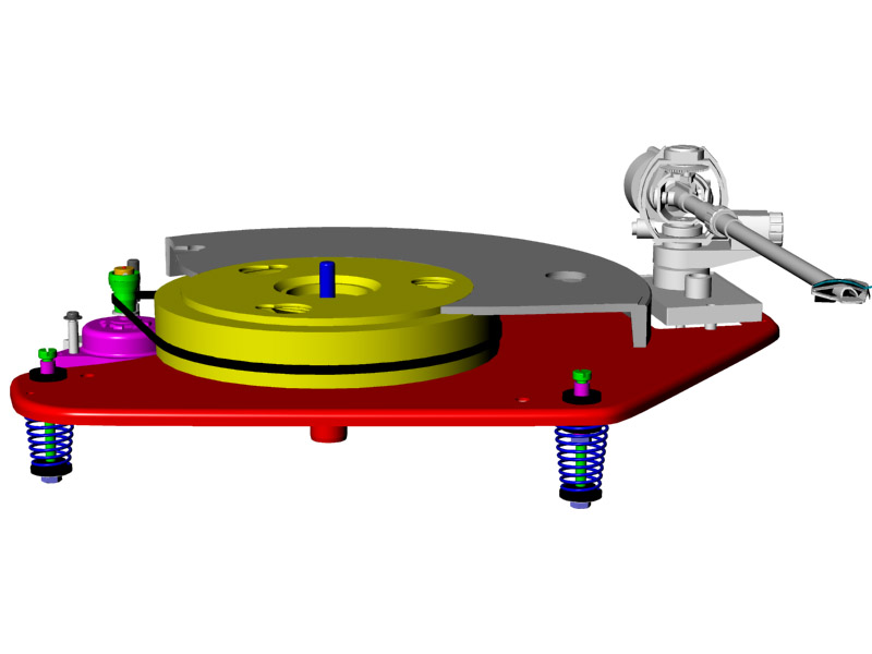 Tuning a Thorens floating subchassis turntable – Home